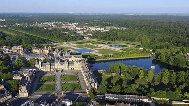 Fontainebleau for Jardin anglais chateau fontainebleau